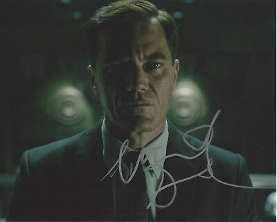 Entertainment Memorabilia Autographs-original Systematic Actor Michael Shannon Signed The Shape Of Water 8x10 Movie Photo W/coa Elegant In Style