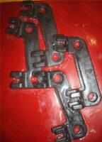 Big Block Ford 3/8 Steel Guide Plates Bbf 429 - 460