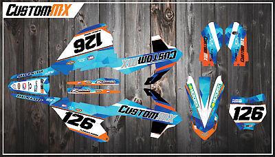 KTM SX85 Full Graphics Kit 2003-2012 2013-2017 2018-2019 SX 85 Decals  Stickers | eBay