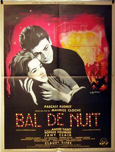 Cartel-Cine-1959-Graduacion-de-S-Daumier-P-Audret-G-Rollin-M-Campana-59x77-CM