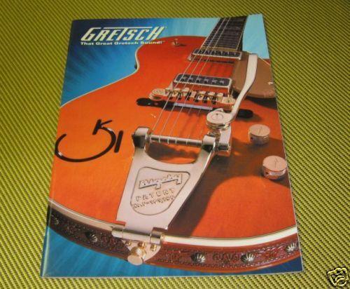 NOS GRETSCH GUITARS 2006 CATALOG 6120 WHITE FALCON ROUND UP 6121