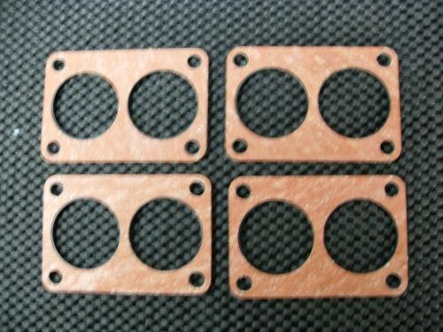 ASTON MARTIN DBS V8 5.3  CARBURETTOR BASE GASKET//INSULATOR X4