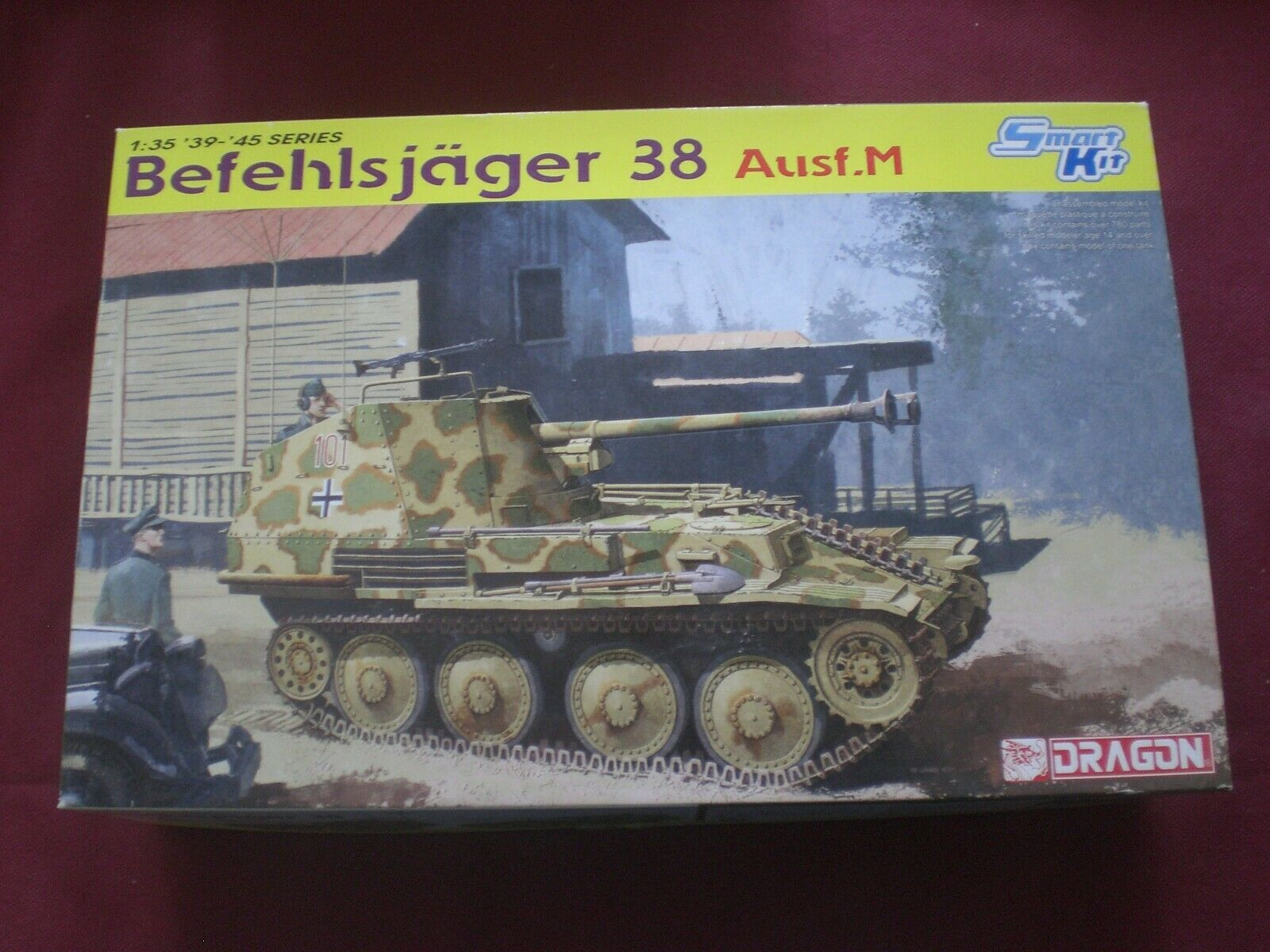 Befehlsjager 38 Ausf.M - SCALA 1 35 Dragon