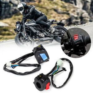 Universal-Motorcycle-Motorbike-Handle-Bar-Switch-Light-On-Off-Indicator-Control