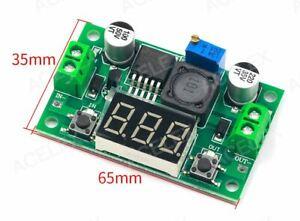 Digital Display Adjustable Power Supply     4V - 40V    to    1.5V - 37V      2A