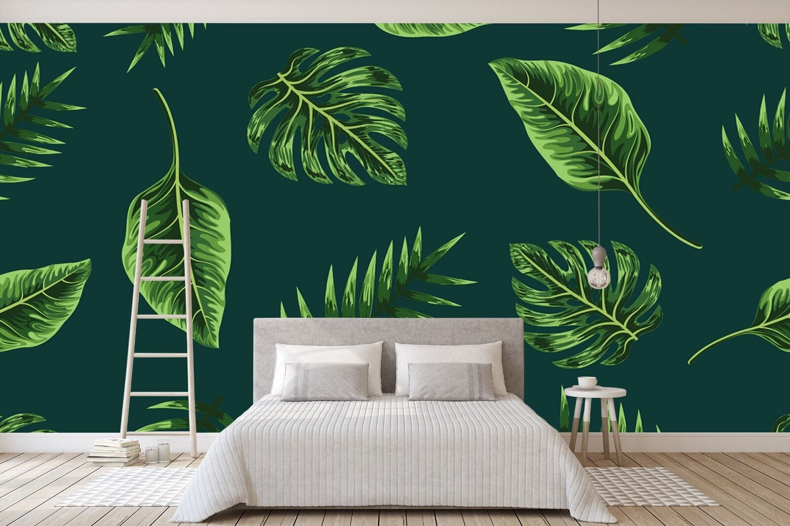 3D Grün Leaf 770 Wall Paper Print Wall Decal Deco Indoor Wall Murals US Summer