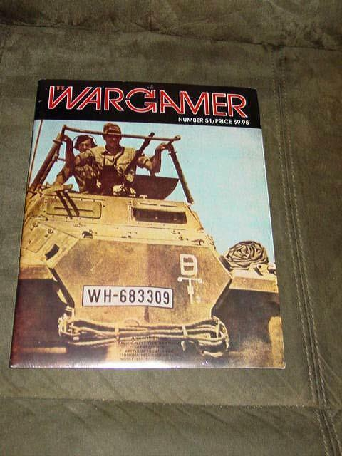 WARGAMER  51 - DUEL in the DESERT game - Rommel in North Afrika (SEALED)