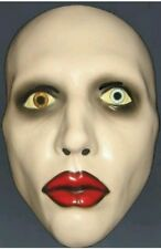 official  Marilyn Manson face mask halloween