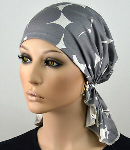 Damen bandana kopftuch m tze chemo tuch leichte tuchm tze chemom tze linda neu ebay - Bandana tuch binden ...