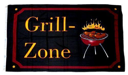 Flagge / Fahne Grill Zone NEU 90 x 150 cm
