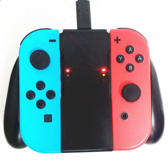 NEW Joy-Con Charging Grip for Nintendo Switch Controller Handle Charger HOT!!!