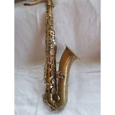 Tenor Saxophon, Elkart Ind.,Bj. zw. 1918-20, erworben als CONN