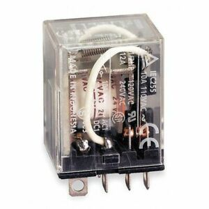 Omron-Ly2-Dc24-Plug-In-Relay-8-Pins-Square-24Vdc