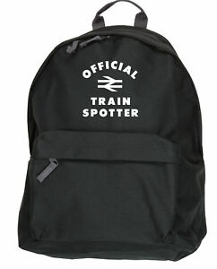 Train Ruck Hobby Trainspotter à Sack Collège Sac dos dos à officiel Sac wqTW4nzR6