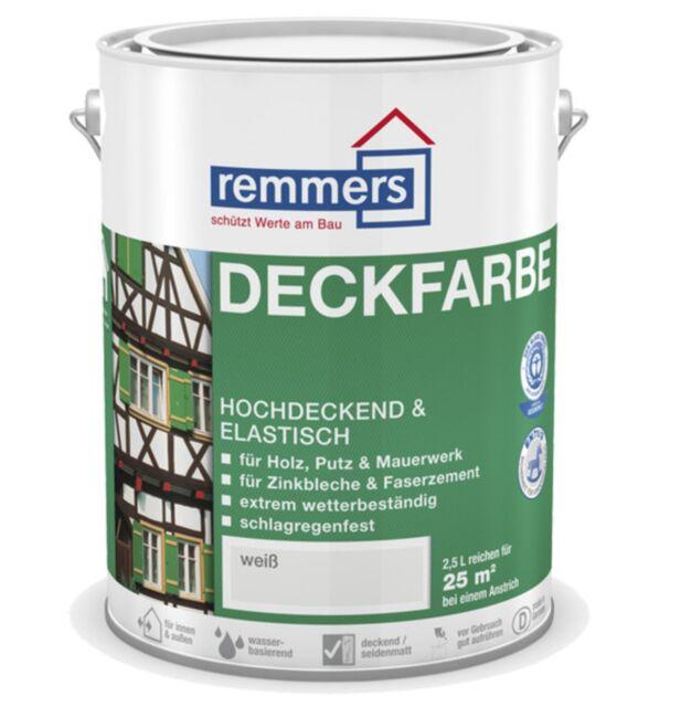 remmers color Base 0,75L marfil claro RAL 1015 Madera & Otros sustratos POR EJ.