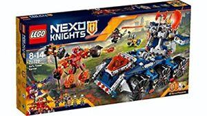 Lego - 70322 Nexo Knights Le Transporteur De Tour D'axl Neuf Scellé