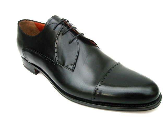 A.testoni Negro, Zapatos: 7d (US), Negro, A.testoni Cierre con cordón, Cuero 64c22e