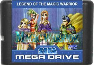 Brave Battle Saga: Legend of the Magic Warrior (1996) Sega Genesis / Mega Drive