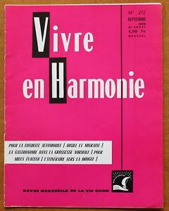 Vivre-en-Harmonie-N-272-de-1976-R-Dextreit-Argile-amp-migraine-Drogue