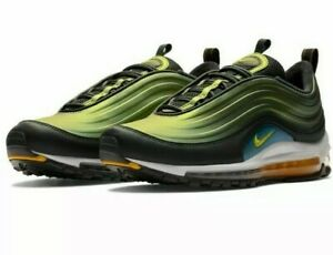 Details about 2018 Mens Nike Air Max 97 LX AnthraciteAmarilloWhite Running Shoes Size 10