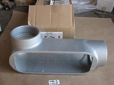 """New Appleton T75T-A T75TA Form 85 3//4/"""" Inch Aluminum Conduit Body"""