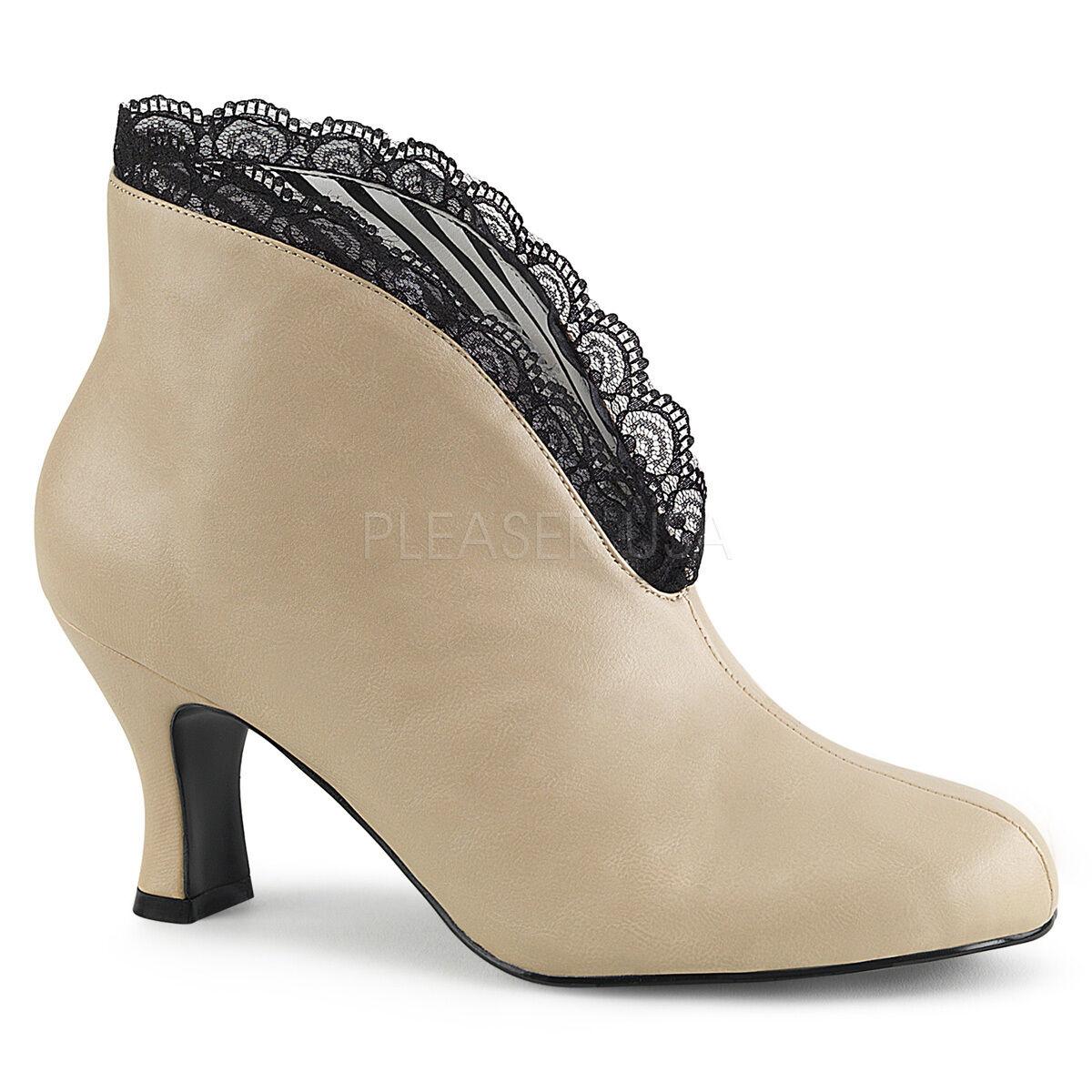 Pleaser Pink 9-16 Label JENNA-105 Slip-On Ankle Boot Größe 9-16 Pink 2e3265