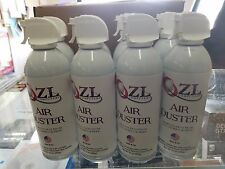 CASE OF 8 10OZ CANS ZL COMPUTERS CANNED AIR COMPRESSED AIR DUSTER WITH STRAW