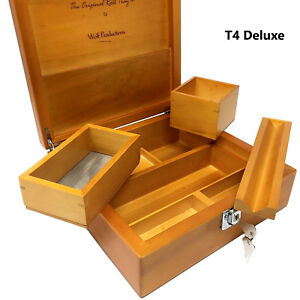 Wolf-Productions-Smoking-Stash-Rolling-Box-Real-Wood-Deluxe-with-Rolling-V