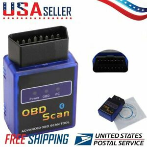 Details about ELM327 OBD2 OBDII Car Diagnostic Bluetooth Scanner Torque  Auto Scan for Android