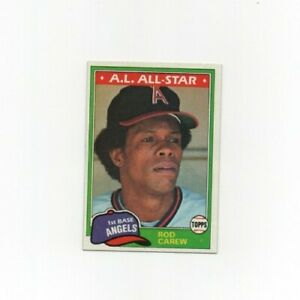 1981-Topps-Rod-Carew-Baseball-Card-100-Minnesota-Twins-HOF