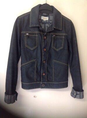 """"""" """"giacca Di Jeans Diesel-taglia Xs-mostra Il Titolo Originale"""