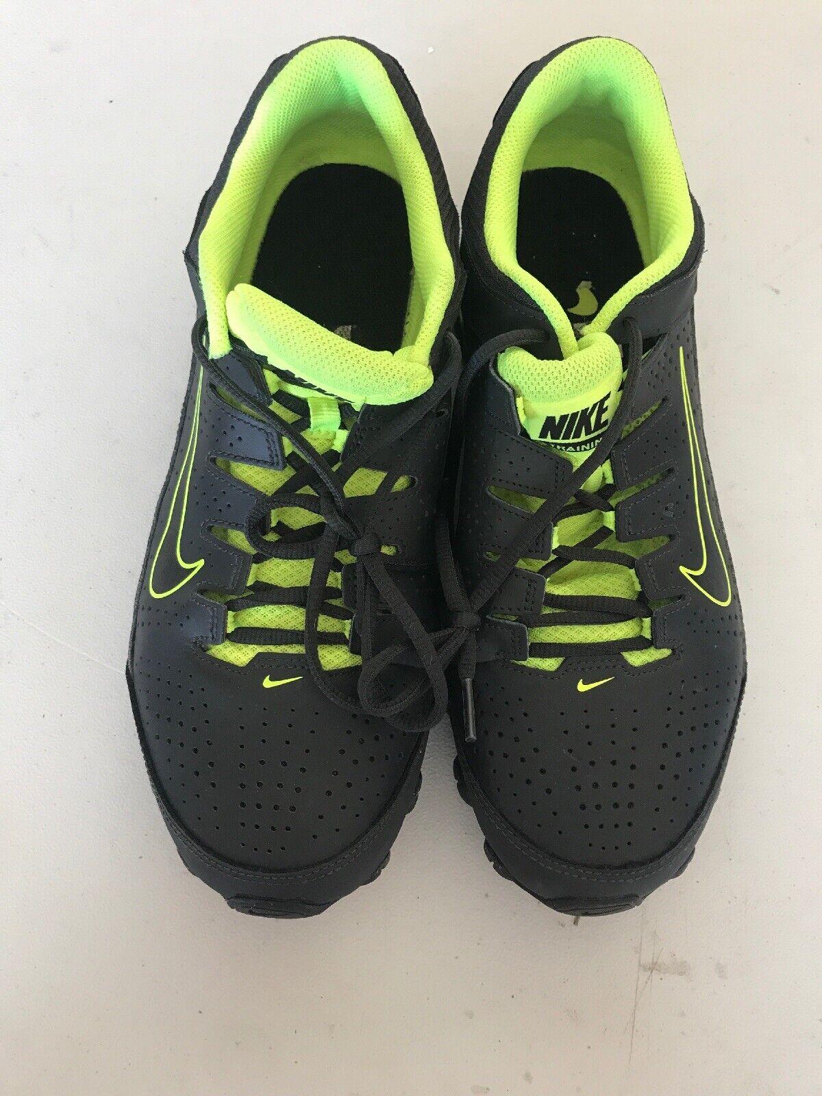 Nike Reax 8 TR Anthracite Black-volt Size 11 616272 036