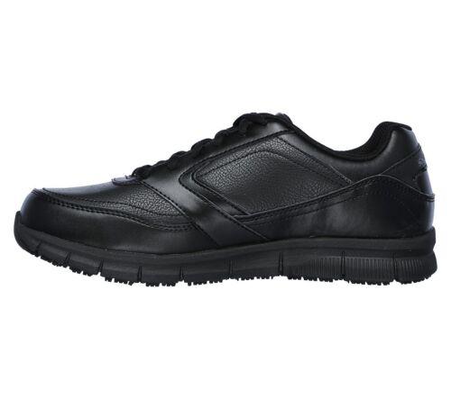 Wide Nero Fit Comfort Foam Memory Uomo Scarpe Work 77156 Antiscivolo Skechers 6Tnqagx6d