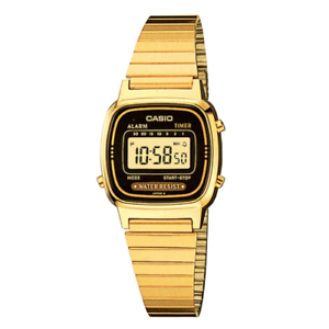 Casio-Women-039-s-Vintage-LA-670WGA-1DF-Daily-Alarm-Digital-Gold-tone-Watch