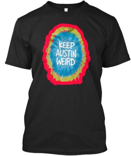 Easy-care Keep Austin Weird Standard Unisex T-shirt Standard Unisex T-shirt