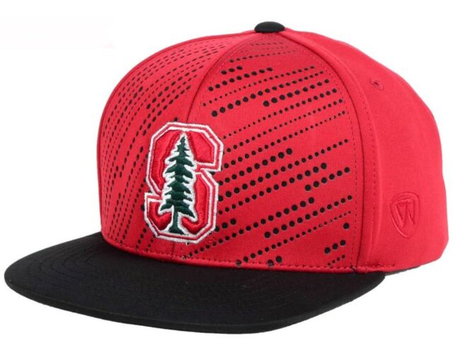 detailed look 15ae5 3ae8e New Stanford Cardinal TOW Sun Breaker Snapback Hat Cap Red