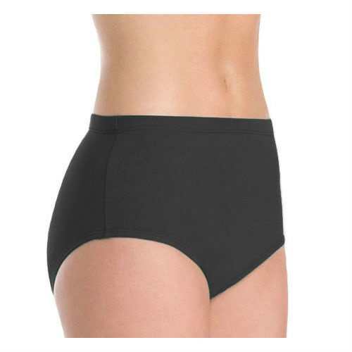 Large Black Athletic Dance Briefs Body Wrappers 100 Girl/'s Size 12-14