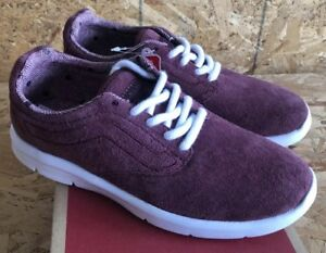 8a4f591323efe1 Vans Iso 1.5 Tweed Dots Burgundy True White Sz Mens 7   Womens 8.5 ...