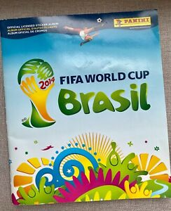 World Cup 2014 Brazil Soccer Panini Player / Country Card Book Sticker Album