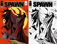 Spawn #230 Color & Sketch Variant Mexican Edition - Todd McFarlane!