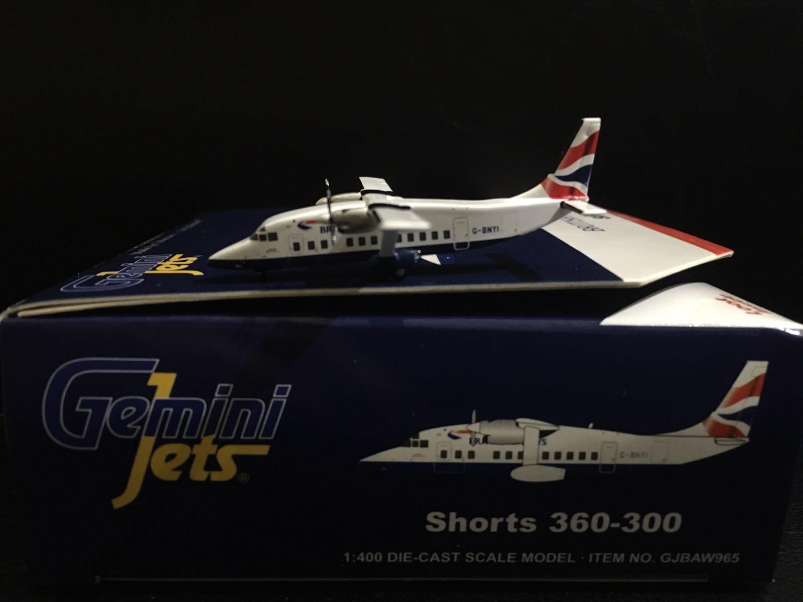se descuenta Gemini Jets 1-400 aerolínea británica Pantalones Pantalones Pantalones Cortos 360-300 G-bnyi gjbaw 965 763116769 659  auténtico