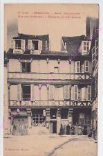 CPA SEPIA 03000 MOULINS Sous Jacquemart rue Orfèvres Edit PAQUET ca1909