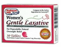 Women's Gentle Laxative Tablets 30 Ea (pack Of 3) on sale
