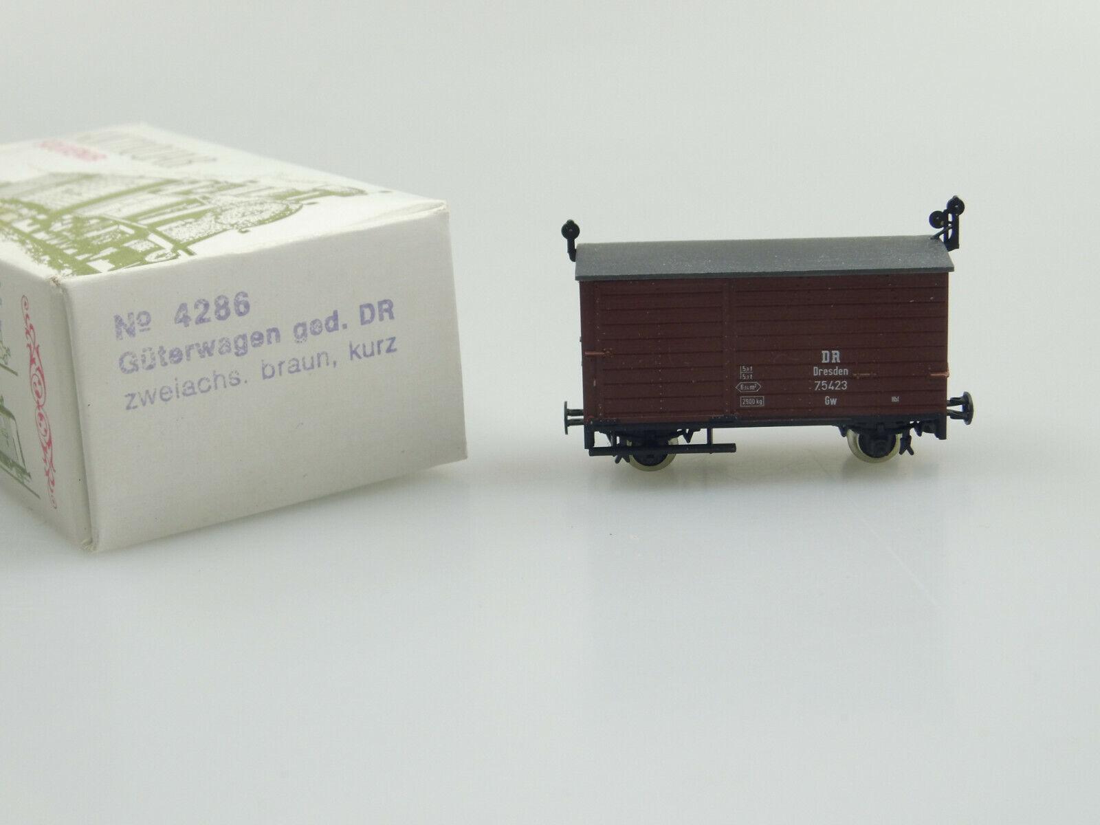 Techno modello h0e 4286 festa CARRO MERCI DR OVP