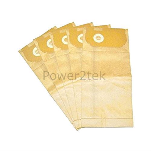 5 x E50 E60 E60n Sacchetti Per Aspirapolvere Per ELECTROLUX Widetrack 1400 Series Hoover