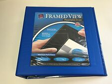 Avery 2 Framed View Presentation Binders Pacific Blue 68034 Case Of 6