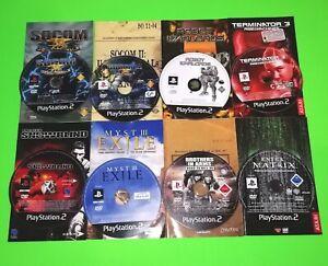 PS2-Games-Bundle-Playstation-2-SOCOM-Myst-3-Terminator-3-Enter-The-Matrix-Atari