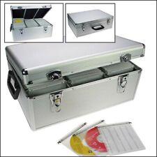 SAFE ALU-Koffer für 510 CDs / DVDs / Blu-Rays in Hängeregistern