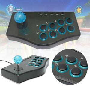 Arcade-picchiaduro-CONTROLLER-USB-JOYSTICK-GAMEPAD-PER-CONSOLE-PC-PS3-NUOVO