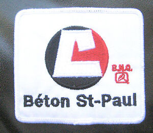 BETON-ST-PAUL-EMBROIDERED-SEW-ON-PATCH-BNQ-CANADA-ADVERTISING-3-1-2-034-x-3-034